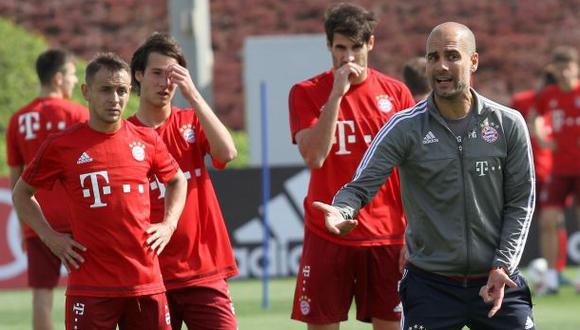 Tensión en Bayern Múnich por presiones de Pep Guardiola