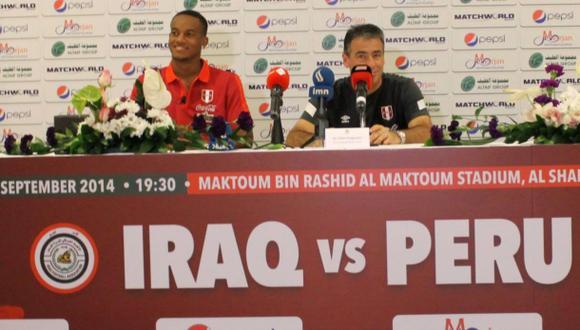 ¿Qué dijo Bengoechea previo al partido entre Perú e Iraq?