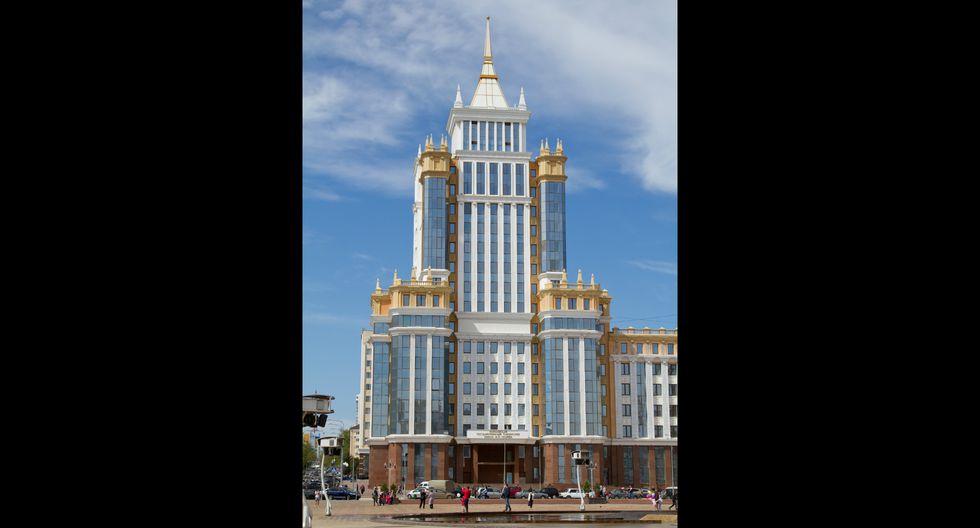 Uno de los edificios más populares de Saransk es la Universidad Estatal de Mordovia.  Foto: Shuterstock
