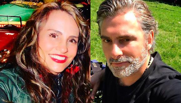 Aura Cristina y Harry Geithner se alejaron cuando la actriz decidió irse a vivir con su novio a los 18 años, originando que sus padres sufrieran (Foto: Aura Cristina y Harry Geithner / Instagram)