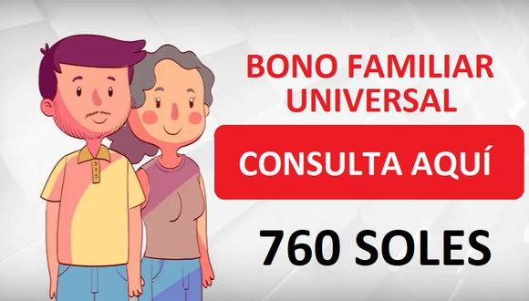 El Midis dio a conocer que se extenderá el grupo de peruanos que recibirán el Bono Familiar Universal (Foto: Midis)