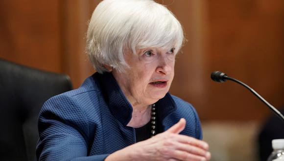 La secretaria del Tesoro estadounidense, Janet Yellen. REUTERS