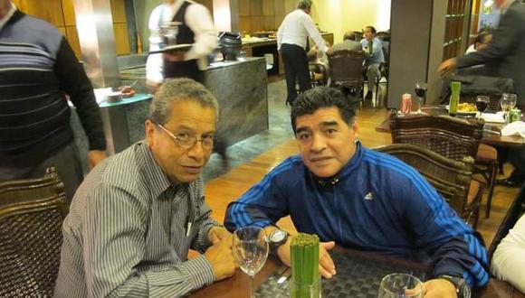 Un tercer encuentro con Diego ocurrió el mediodía del 5 de septiembre del 2013 en los predios de Pelé, la inmensa metrópolis de Sao Paulo. (Foto: Difusión)