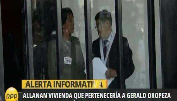 Oropeza: incautan información contable de empresa Sergero SAC