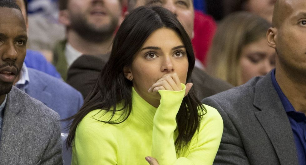Kendall Jenner subió dicha foto a Instagram Stories. (AFP)