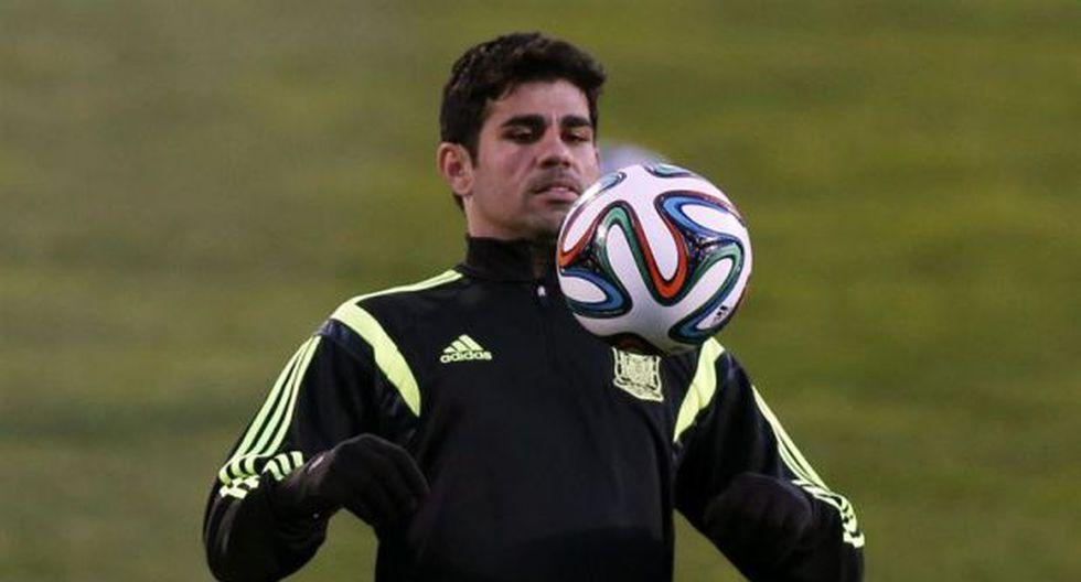 Diego Costa se recuperó y quiere jugar este sábado con España