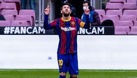 Lionel Messi decretó el 1-0 en el Barcelona-Cádiz por LaLiga. (Foto: FC Barcelona)
