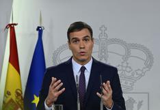 España: Sánchez convoca un Consejo de Ministros para aprobar un nuevo estado de alarma por coronavirus