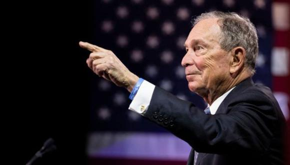 Michael Bloomberg, de 78 años, es una de las personas más ricas del mundo. (Foto: Getty Images, vía BBC Mundo).