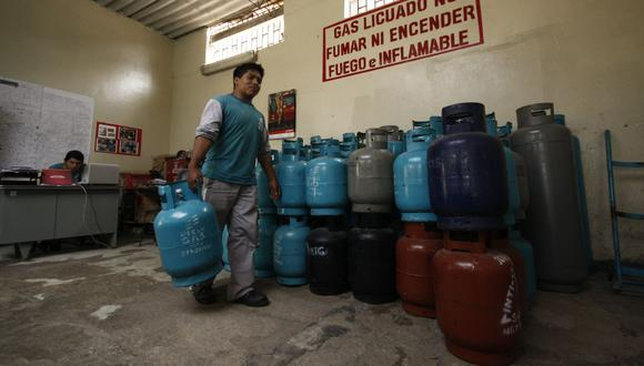El balón de gas de 10 kilos bordeó los S/ 60 en los primeros días de septiembre. (Foto: GEC)