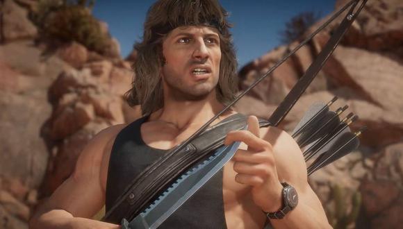 Rambo llegó al videojuego Mortal Kombat 11 a finales de 2020 y ahora se planea su estreno en Warzone. (Captura de pantalla)
