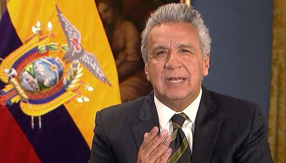Presidente de Ecuador se manifestó por su cuenta de Twitter. (Foto: Archivo Correo Agencias)