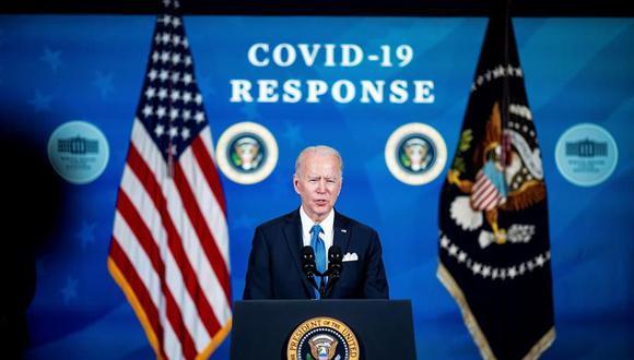 """Joe Biden promete """"compartir"""" las vacunas contra el coronavirus con el mundo si Estados Unidos tiene excedentes. (Foto: EFE/EPA/Al Drago)."""