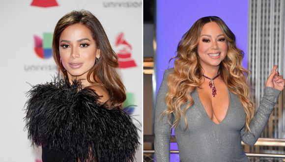 """Anitta destacó que Mariah Carey es su """"reina número uno"""", una """"diva"""", para terminar su mensaje con un """"te quiero"""". (Foto: EFE/AFP)"""