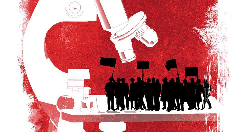 """""""En tiempos de zozobra social, es muy fácil ignorar o politizar la ciencia"""". (Ilustración: El Comercio)"""
