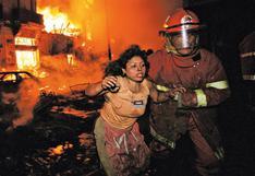 Incendio en Mesa Redonda