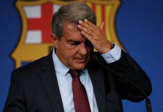 """Laporta tras el papelón de Barcelona en Champions League: """"Estoy tan dolido e indignado como todos ustedes"""""""