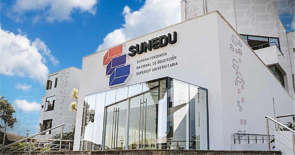 Sede principal de la Superintendencia Nacional de Educación Superior Universitaria (Sunedu). Foto: Sunedu