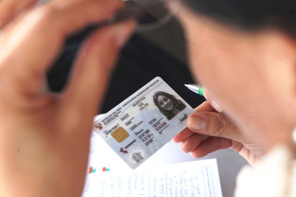 La fecha de emisión de tu DNI es un dato que puedes encontrar a simple vista (Foto: Andina)