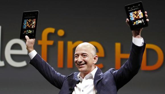Jefe de Amazon supera a Slim como el cuarto más rico del mundo