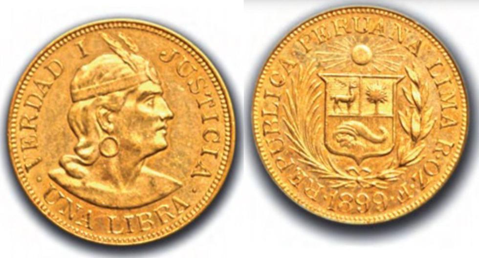 Estas eran las monedas que circulaban en el Perú en 1899.