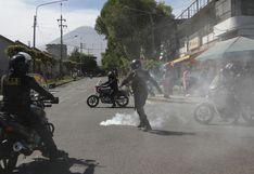 Coronavirus en Perú: comerciantes protestaron y fueron replegados con bombas lacrimógenas en Arequipa