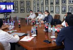 Gareca y miembros de la FPF se reunieron para analizar las cuatro primeras jornadas de las Eliminatorias