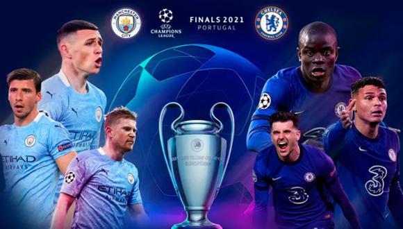 Manchester City y Chelsea juegan la final de la Champions League y aquí te damos a conocer todos los detalles que debes saber de ambos clubes y cómo ver fútbol en vivo. (Foto: UEFA)