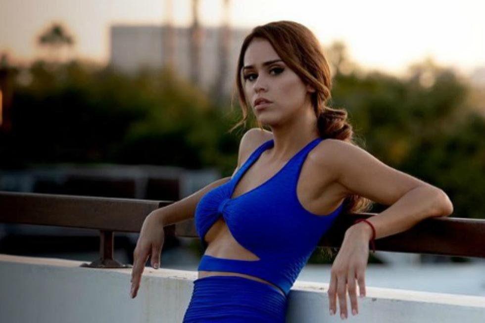 La expresentadora del tiempo de la televisión mexicana, conocida como la 'chica del clima más sexi del mundo', Yanet García, había anunciado anteriormente que empezará a entrenar en su casa. (Foto: Instagram)