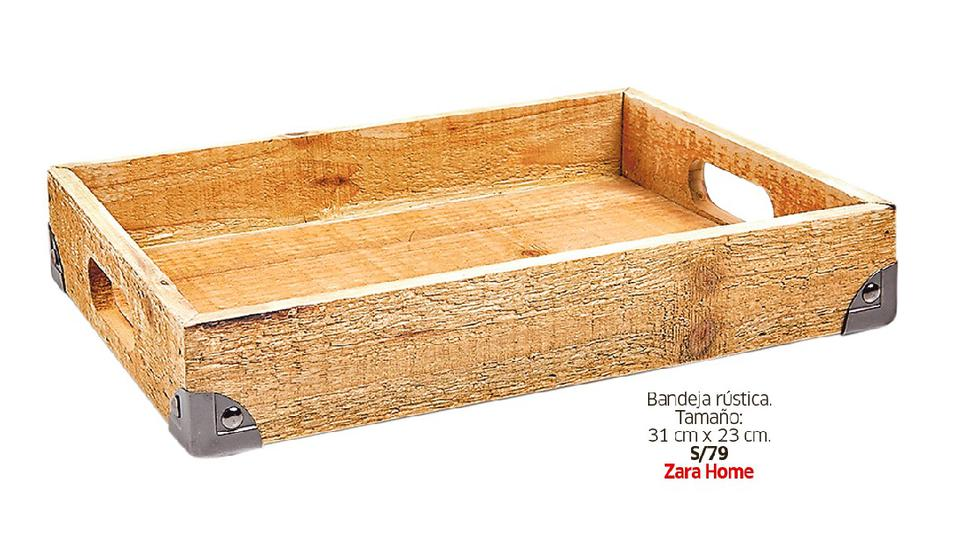 Guía de compras: lindas piezas de madera para lucir en tu casa - 7