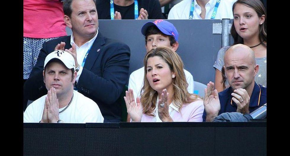 Así vivieron la final las parejas de Federer y Nadal [FOTOS] - 4