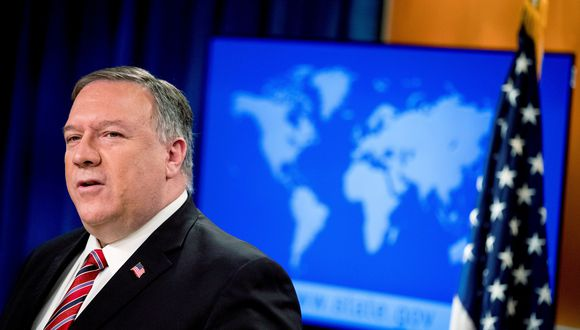Mike Pompeo, secretario de Estado de Estados Unidos. (Foto: Andrew Harnik/Pool via REUTERS).
