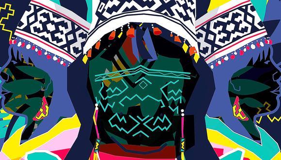 """Detalle de la portada del disco """"Los cantos del Kené"""", nominado a los Premios Luces 2020 en la categoría Disco del año. Foto: Ministerio de Cultura."""