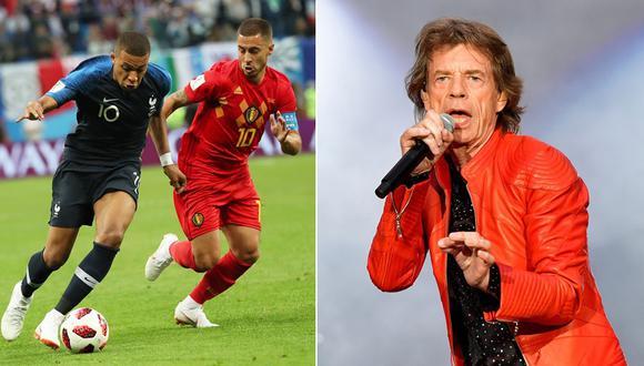 Mick Jagger en Rusia 2018. (Fotos: Agencias)