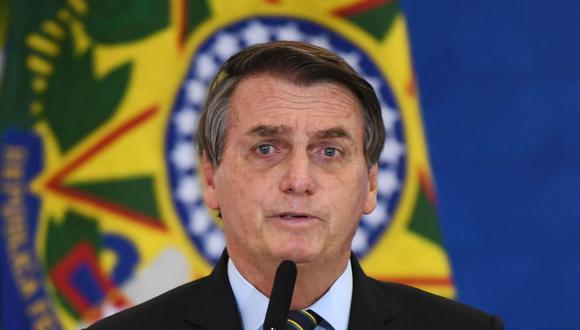 La CIDH advirtió sobre un deterioro de la situación de los derechos humanos en Brasil, evidenciado desde la llegada al poder del presidente Jair Bolsonaro y agravado con la pandemia de coronavirus covid-19. (Foto: EVARISTO SA / AFP).