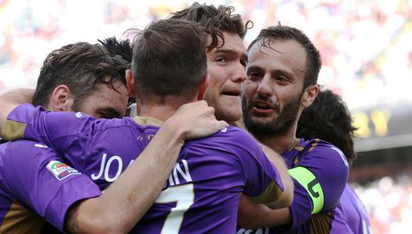 Fiorentina venció 3-2 a Palermo y logró cupo a la Europa League