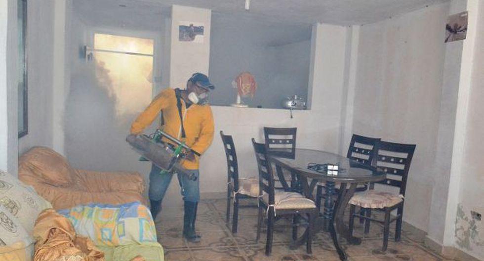Lambayeque: 250 viviendas fueron fumigadas por brote de dengue