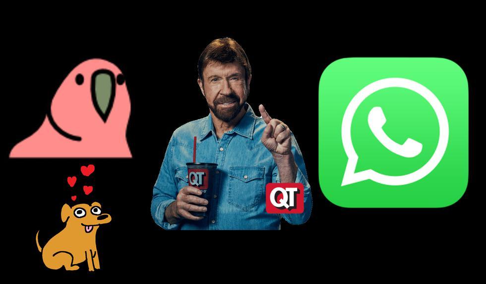 FOTO 1 DE 3 | ¿Quieres crear tus propios stickers animados en WhatsApp? Sigue este truco | Foto: WhatsApp (Desliza a la izquierda para ver más fotos)