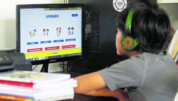 Minedu informó informó hoy que el 15 de marzo reiniciará las clases del Año Escolar 2021. (Foto: archivo GEC)