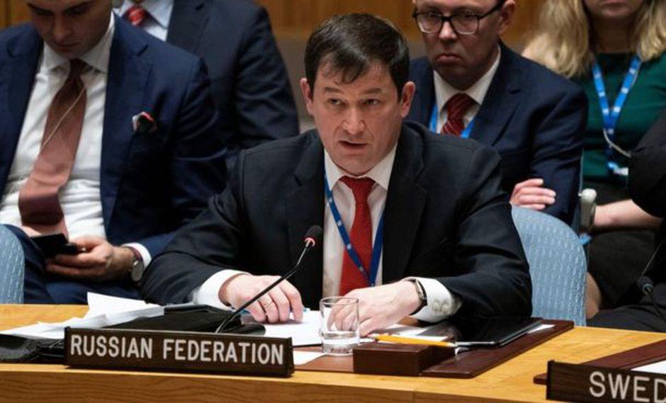 """Dmitry Polyanskiy: Rusia no tiene """"ninguna razón"""" para atender el pedido de Trump de salir de Venezuela. Foto: AFP"""
