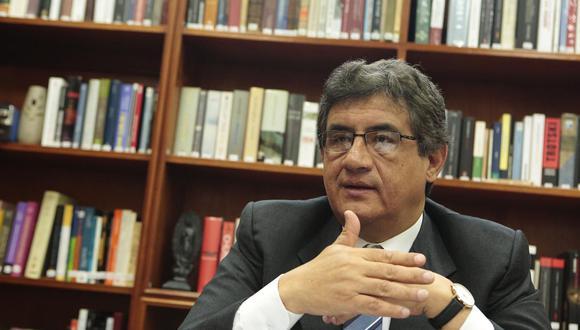"""El vocero de Concertación Parlamentaria calificó como un """"alivio"""" que ya no tengan a Julio Rosas y Pedro Olaechea en sus filas. (Foto: GEC)"""