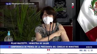 """Pilar Mazzetti afirma que se vacunará: """"Yo pongo el hombro por nuestra patria"""""""