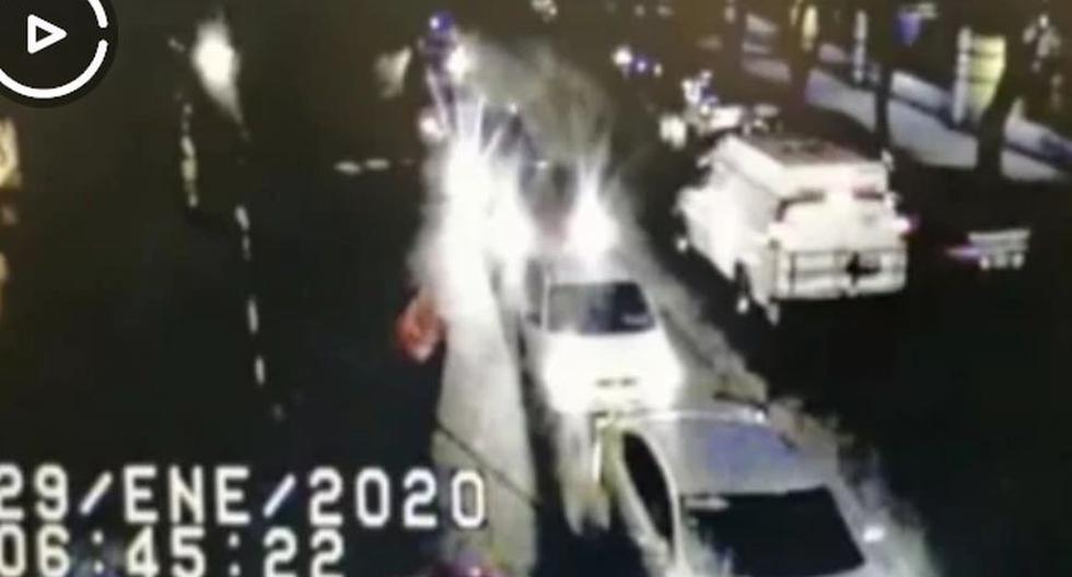 México: Video muestra el escape de 3 presos que iban a ser extraditados a Estados Unidos. (Captura de video)