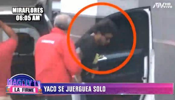 Yaco Eskenazi se amaneció en discoteca mientras su esposa se encontraba de viaje. (Foto: Captura ATV)