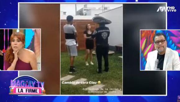 Pedro Gallese sorprendió a su esposa con una serenata. (Imagen: ATV)