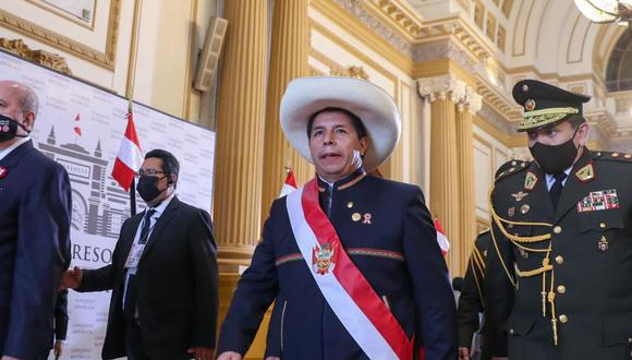 La alocución ante el Parlamento fue profusa en anuncios, con pocas medidas concretas. (Foto Andina)