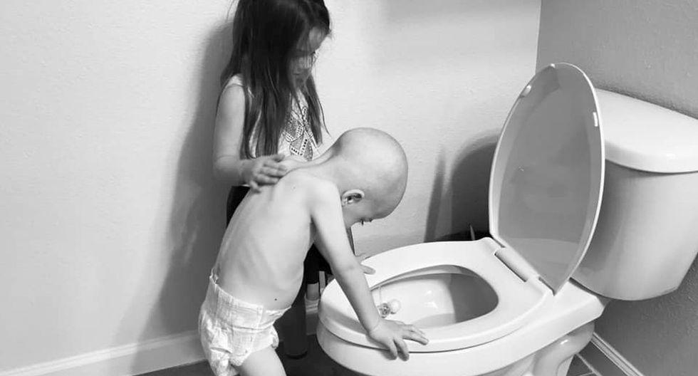 Esta cruda foto se ha vuelto viral en redes sociales y tienen una conmovedora historia detrás (Foto;: Facebook)