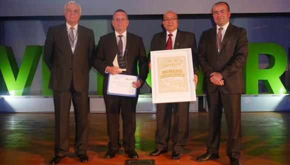 SNMPE premió innovación tecnológica de empresas e instituciones