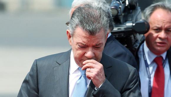 Juan Manuel Santos, presidente de Colombia. (Foto: Reuters/Guadalupe Pardo)