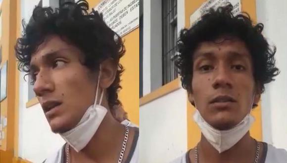 El joven hizo pública su denuncia mediante las redes sociales. (Foto: captura video de Twitter)